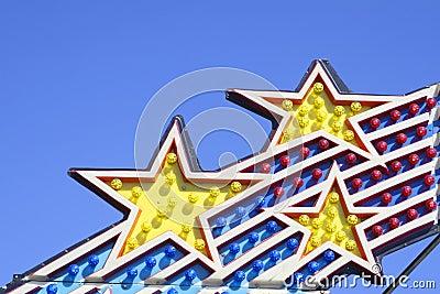 Amusement Park Ride Lights