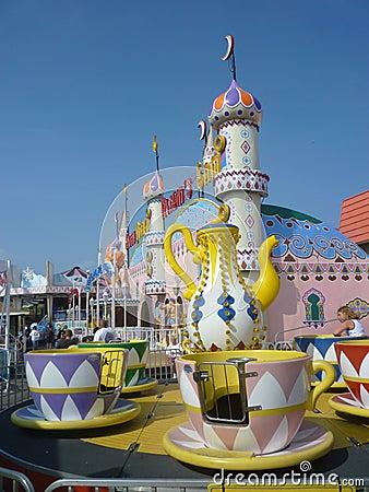Amusement Park Rides Editorial Image