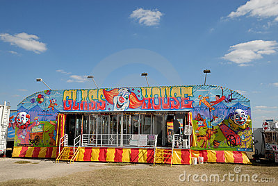 Amusement park in Texas Editorial Stock Image