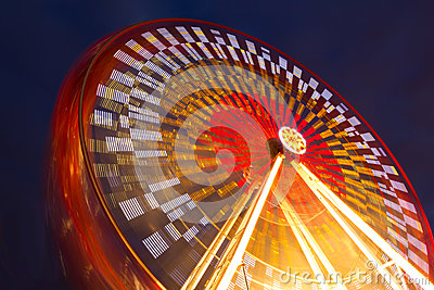 Amusement park. Wheel