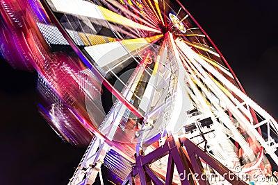Amusement park. Wheel