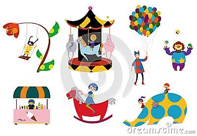 Amusement parks pattern