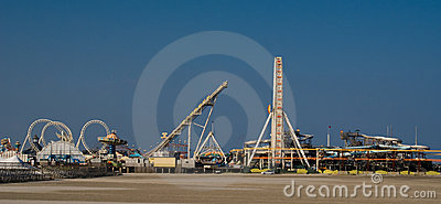 Amusement Pier (panoramic)