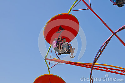 Amusement Ride Editorial Image