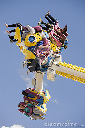 Amusement Rides Editorial Image