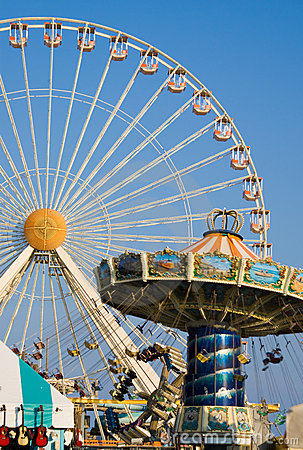 Free Amusement Rides Royalty Free Stock Photo - 5833175