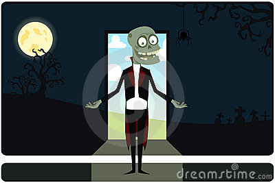The amusing zombie on an input