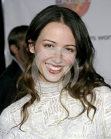 Amy Acker Editorial Stock Image