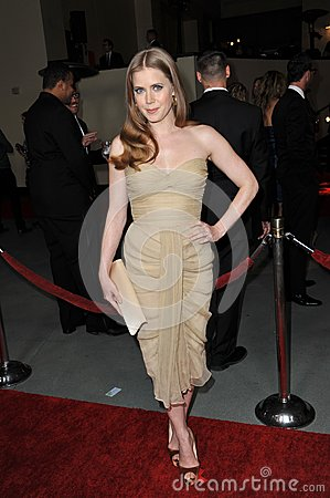 Amy Adams Editorial Stock Photo