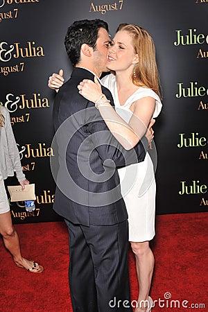 Amy Adams,Chris Messina Editorial Photo