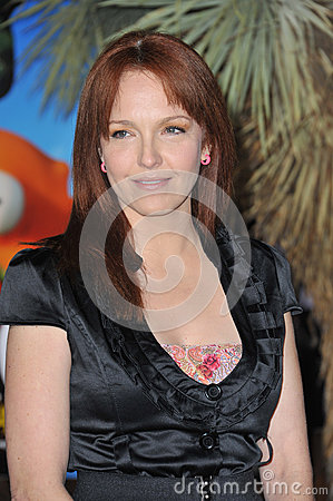 Amy Yasbeck,The Animals Editorial Stock Image
