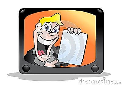Anúncio de televisão