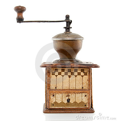 Free An Antique Coffeegrinder Royalty Free Stock Images - 16121059