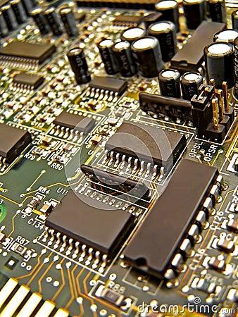 Free An Electronic Circuit Stock Photos - 153223