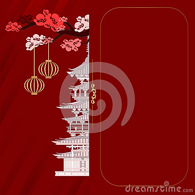 Free An Invitation To The Chinese Style Royalty Free Stock Photography - 65425327