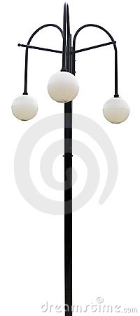 Free An Old Art Deco Lamp Royalty Free Stock Images - 4018999