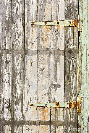 Free An Old Door With Flaking Paint Stock Photo - 14244250