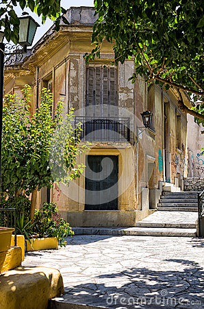 Free An Old Neoclassical Building In Athens, Greece Stock Photography - 41582792