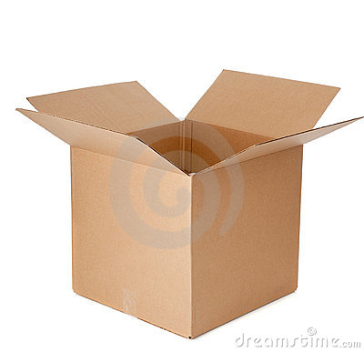 Free An Open Empty Cardboard Box Stock Photo - 11636140