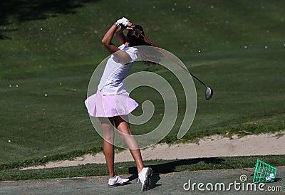 Ana Fernandez Mesa, Andalucia Golf Open, Marbella Editorial Image