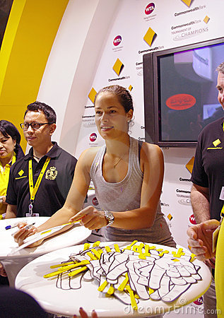 Ana Ivanovic autograph signing Editorial Image