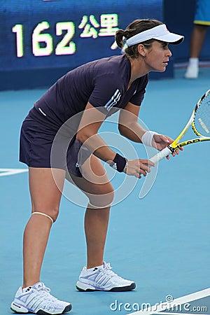 Anabel Medina Garrigues (ESP), professional tennis Editorial Photography