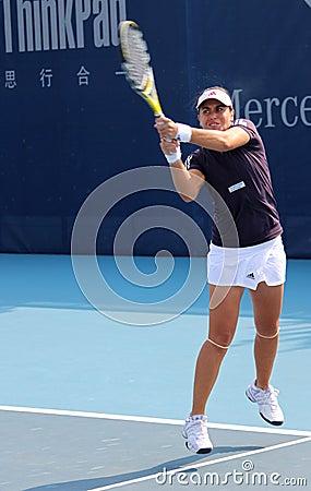 Anabel Medina Garrigues (ESP), tennis player Editorial Image
