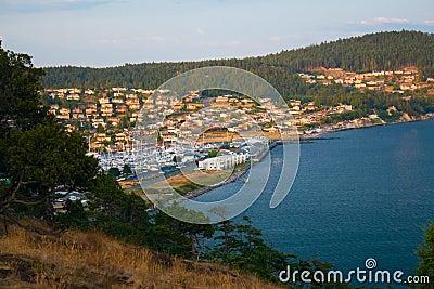 Anacortes Island Marina on Burrows Bay