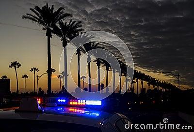Anaheim at dusk