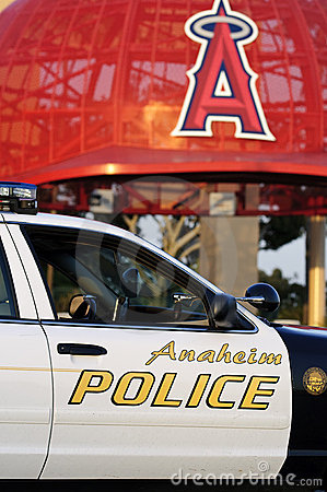 Anaheim Police Editorial Photography