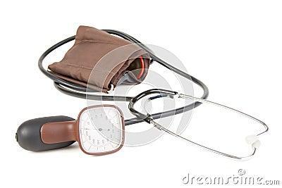 Analog blood pressure meter