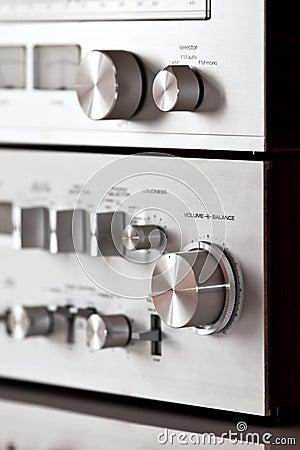 Analog Electronics Stereo Volume Knob Control