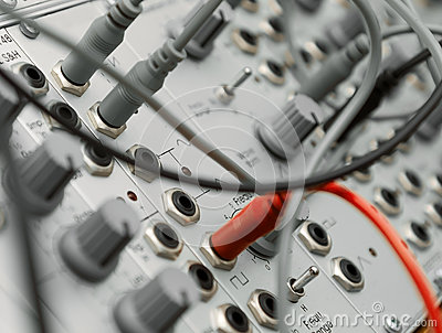 Analog modular synth
