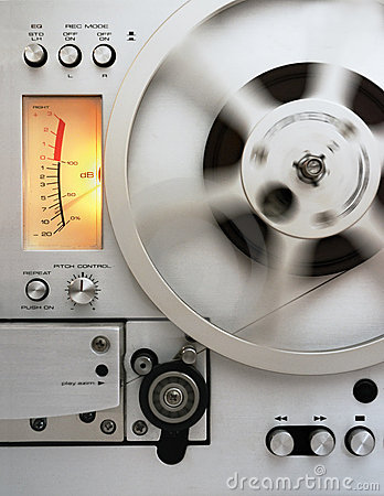 Analog reel tape recorder