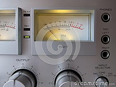 Analog Signal VU Meter