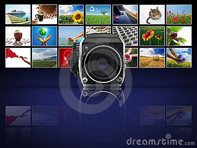 Abalogue camera with photographs