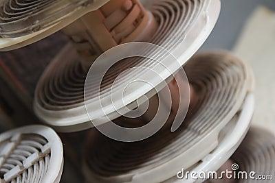 Analogous photo coils