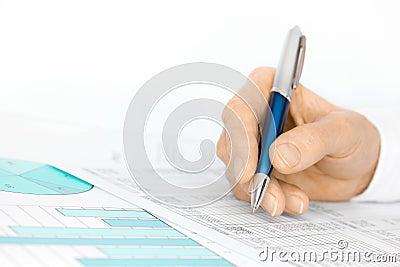 Analyzing Figures on Spreadsheet