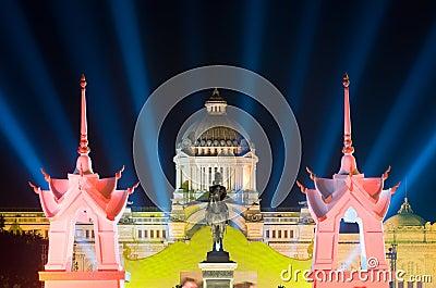 The Ananda Samakhom Throne Hall in Bangkok