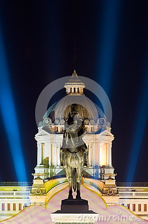 The Ananda Samakhom Throne Hall in Bangkok