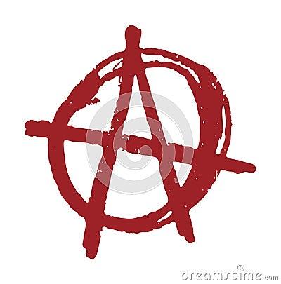 Anarchy Cartoon Illustration