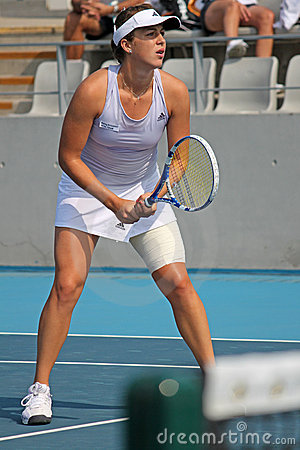 Anastasia Pavlyuchenkova (RUS), tennis player Editorial Photo