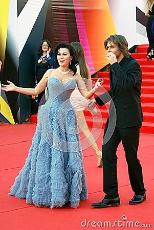 Anastasia Zavorotniuk at Moscow Film Festival Editorial Stock Photo