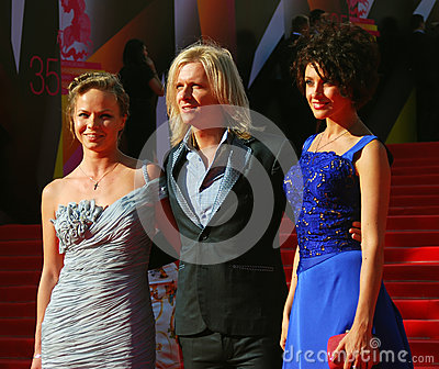 Anastasiya Makeeva at Moscow Film Festival Editorial Stock Image