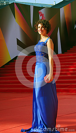 Anastasiya Makeeva at Moscow Film Festival Editorial Photo