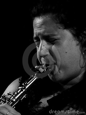 Anat Cohen at Umbria Jazz 2011 Editorial Stock Photo