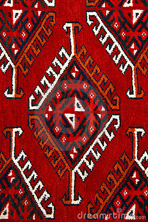 Anatolian carpet design