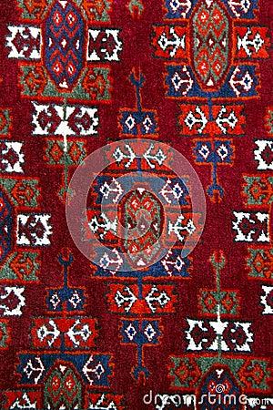 Free Anatolian Handmade Carpet Closer Stock Images - 16786494