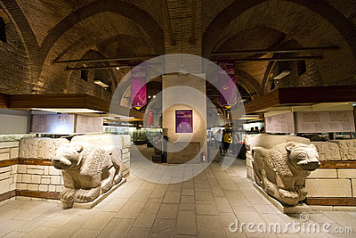 Anatolian Museum, Travel to Ankara Turkey Editorial Stock Image