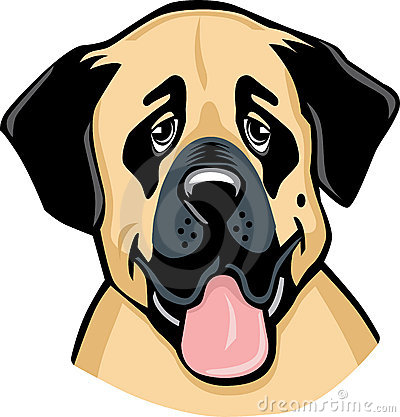 Anatolian Sheperd Dog cartoon